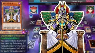 Yu-Gi-Oh! ARC-V Tag Force Special - Gravekeeper's Deck!