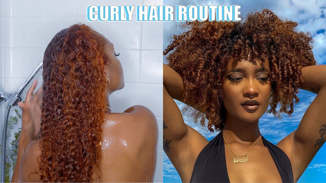 DETANGLING THIS CURLY HAIRTYPE 3B/4A