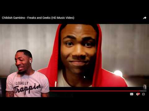 Childish Gambino - Freaks and Geeks (HD Music Video)  | REACTION
