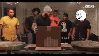 Street Artist Kai Surprises Odell Beckham Jr. With $20K Custom Converse Chuck Taylors