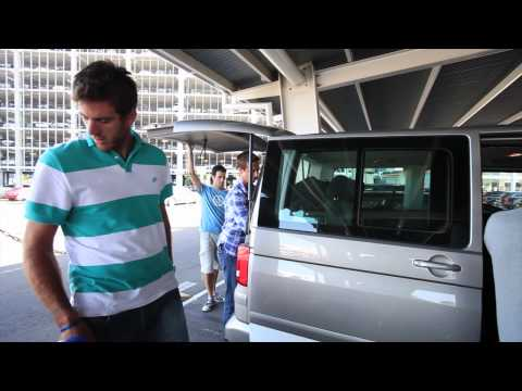 Delpo touches down in Sydney