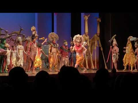 Lion King Standing Ovation / Curtain Call Lyceum Theatre West End