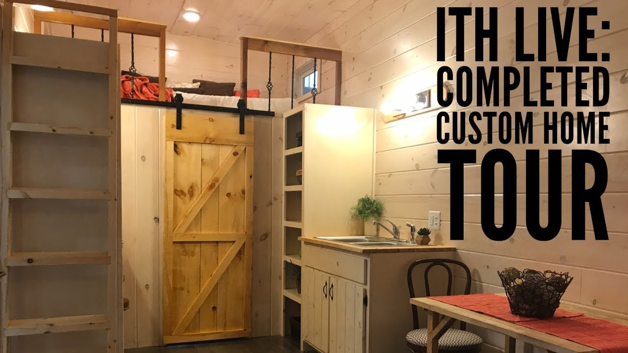 Incredible tiny homes live completed custom home tour for Home video tours