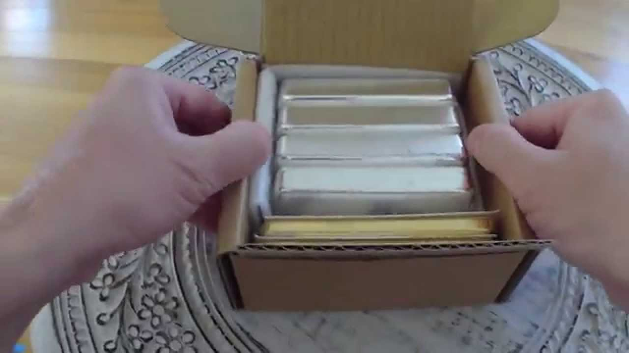 Perth Mint Gold Amp Silver Bullion Unboxing Youtube