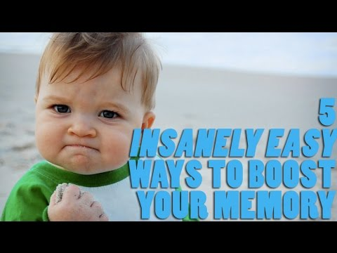 5 Insanely Easy Ways To Boost Your Memory Right Now