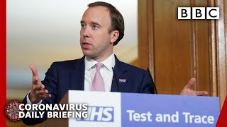 Coronavirus: Test and trace system will start on Thursday - Covid-19 Government Briefing 🔴 - BBC
