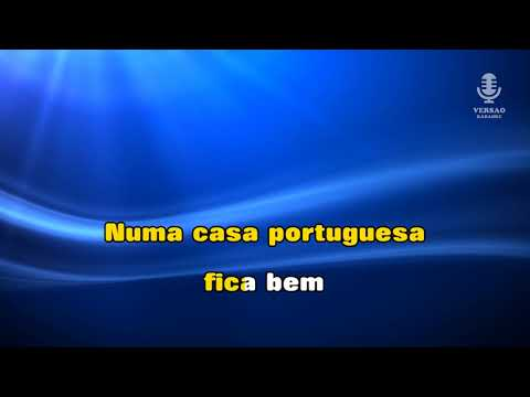 ♫-demo---karaoke---uma-casa-portuguesa---fado-canção