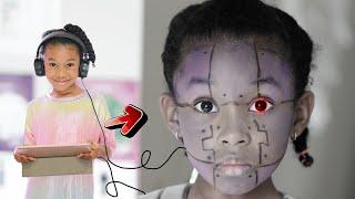 I AM ROBOT! 🤖 Sekora Makes Her Own Robot 🦾