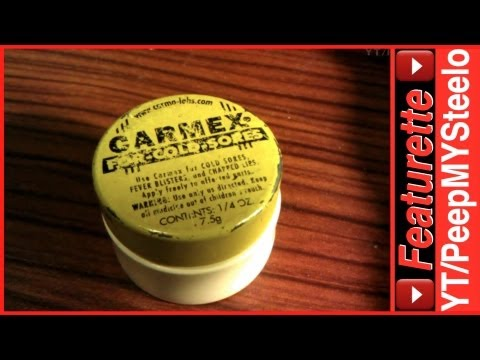 Carmex Lip Balm is Best Chapstick For Peeling Dry to Chapped Lips Care or Cold Sores Therapy