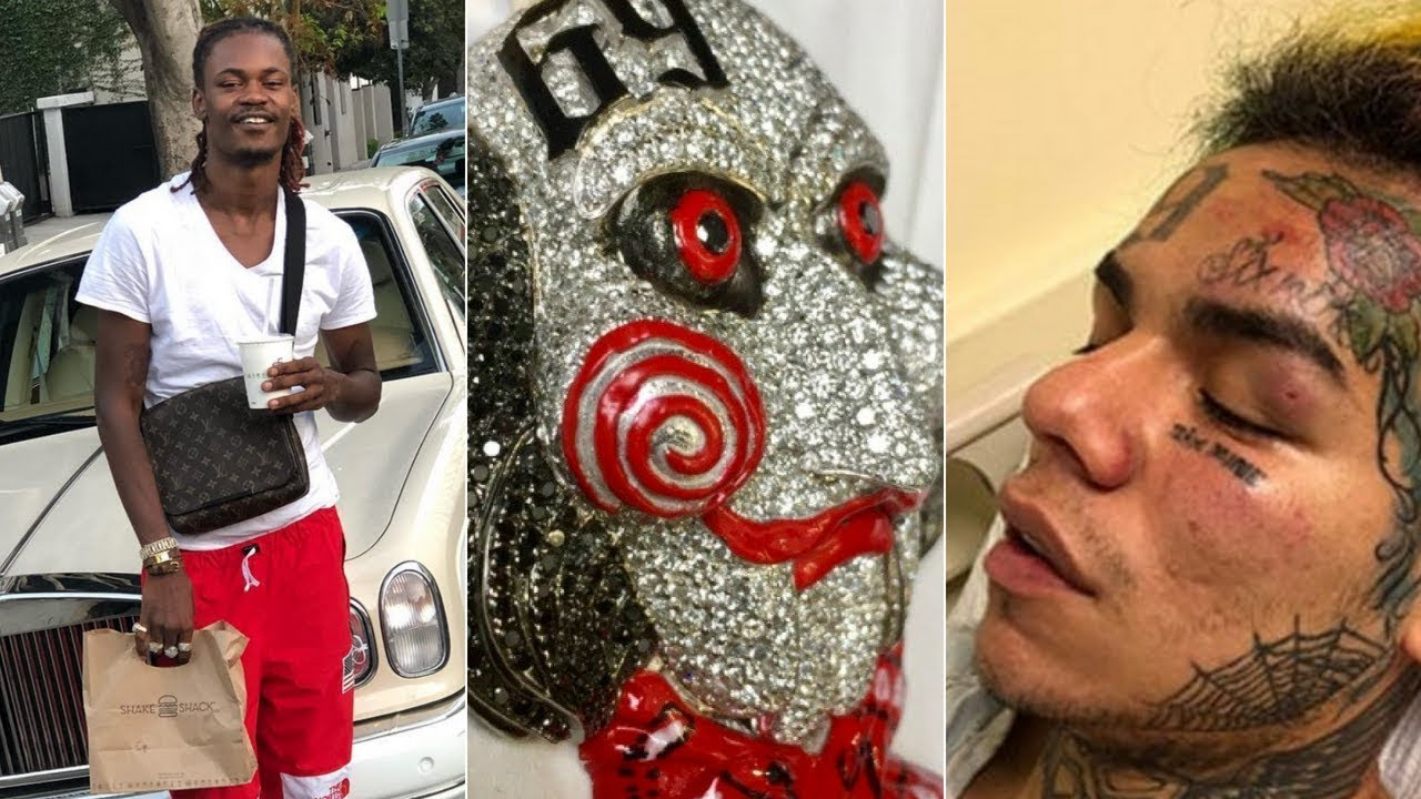 "69 Chain Jigsaw: 6ix9ine ""Jigsaw Chain Pops Up After Robbery Blackjezuss"