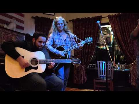 Little Wing ~ Michael Johnson and Stacy Cohen at the Dancing Cat Saloon Bethel 11-07-15