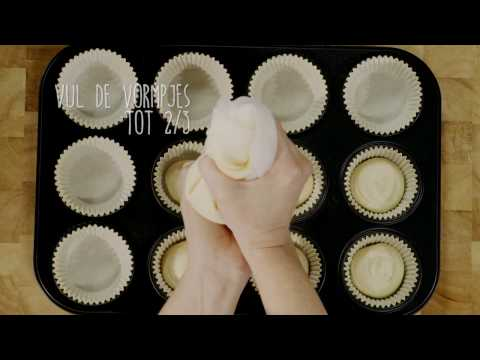 Cupcake recept zonder vanillesuiker