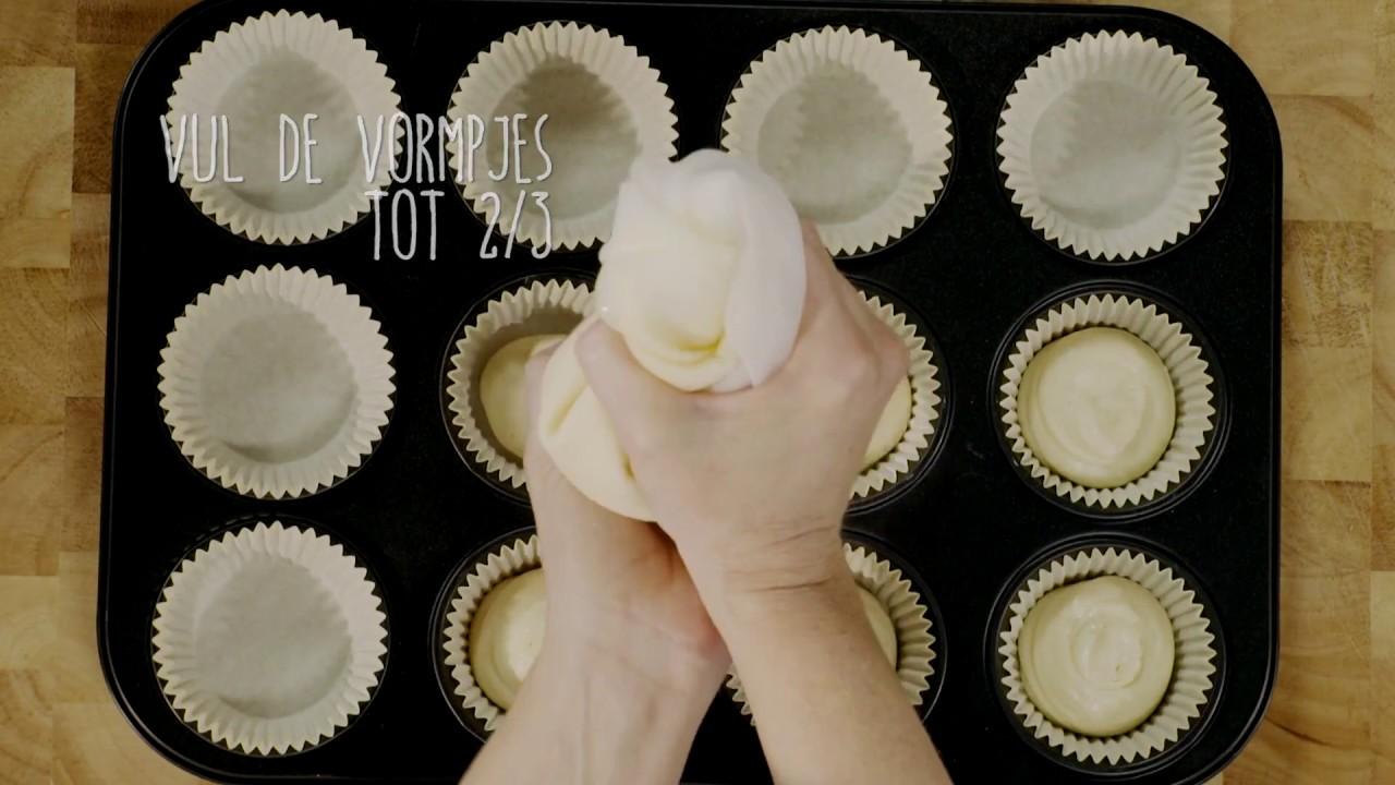 cupcakes maken met cupcake maker