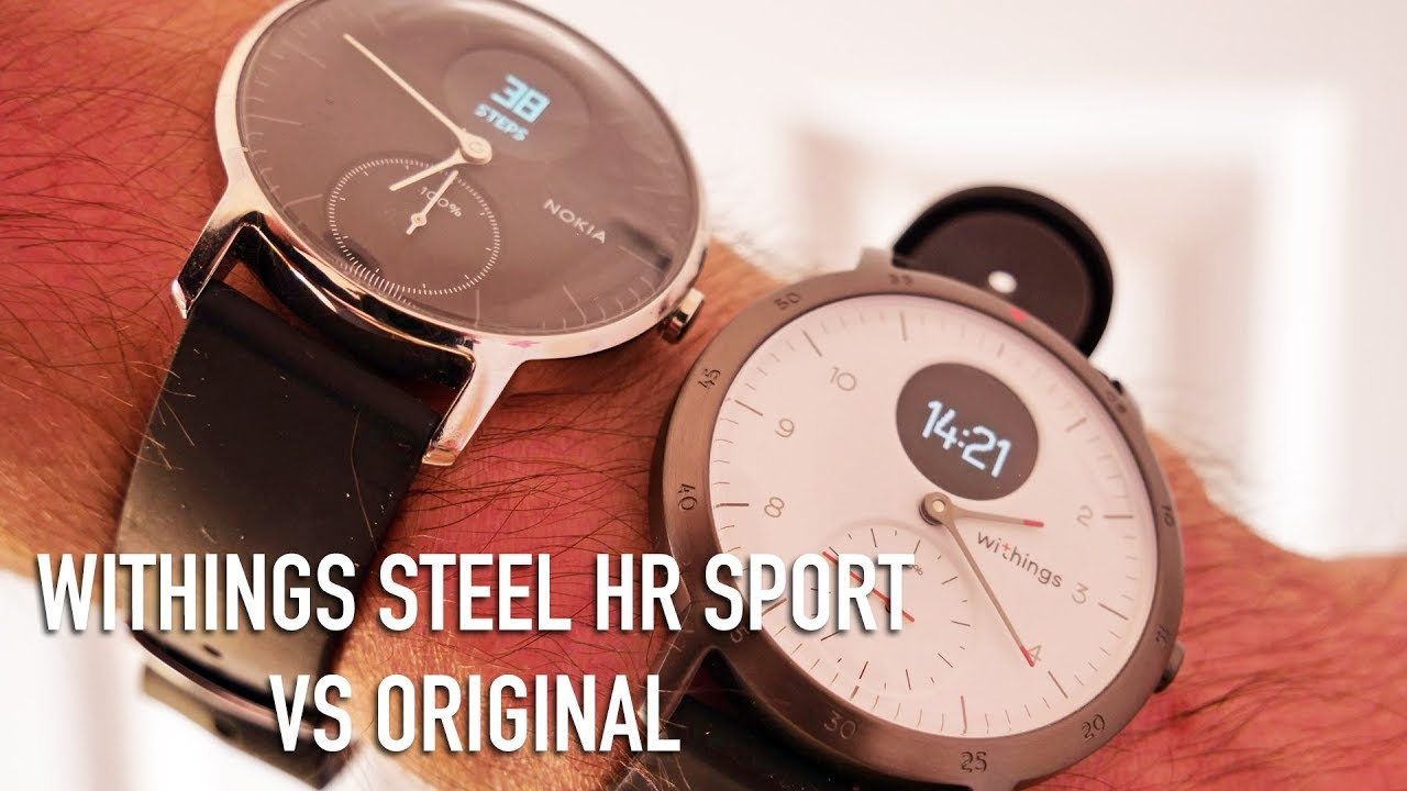 Withings Steel Hr 36mm Vs 40mm