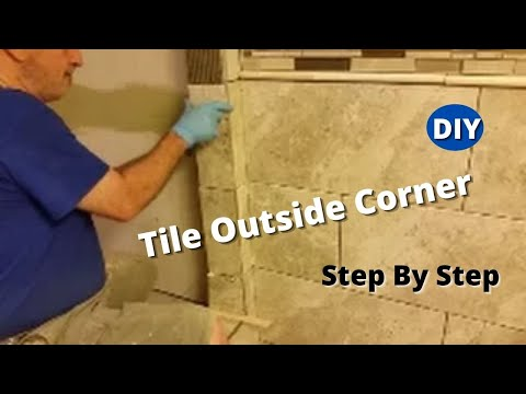 How To Tile Outside Corner - Step By Step - Shower ...