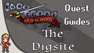 2007 Old School RuneScape OSRS Detailed Quest Guide - The Digsite