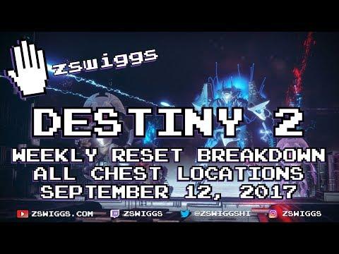 Destiny 2's Weekly Reset Breakdown and Strategies - September 12th, 2017 - Week 2
