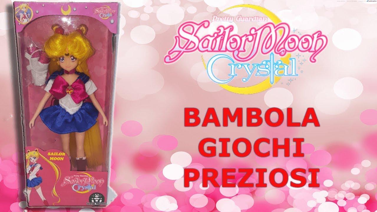 SAILOR MOON CRYSTAL BAMBOLA GIOCHI PREZIOSI - YouTube