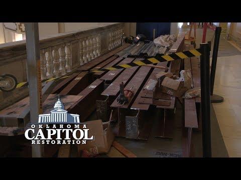 Oklahoma Capitol Restoration - Interior Update July 2017