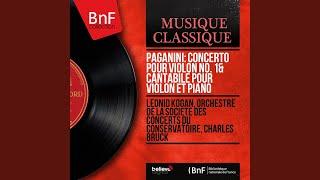Concerto pour violon No. 1 in D Major, Op. 6: I. Allegro maestoso