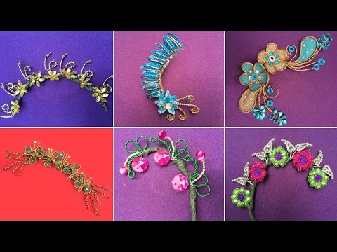 Wedding Hair Brooch Latest Designs 2016 | Being Creative