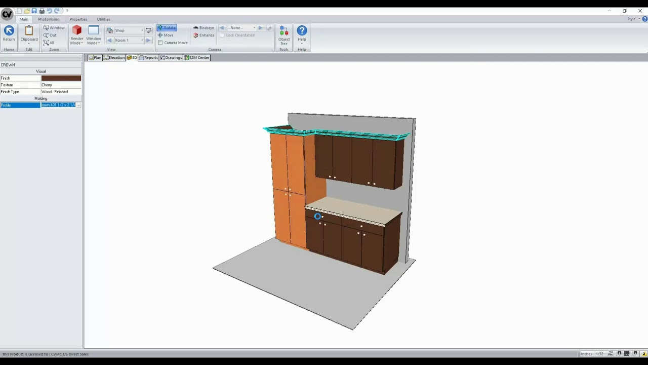 What's New in Cabinet Vision Version 11 - Layout Level