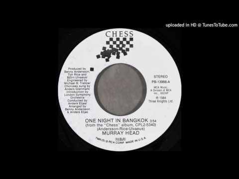 Murray Head - One Night In Bangkok (Single Version)