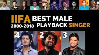 Every IIFA Male Playback Winner | 2000-2018 | Sonu Nigam | Arijit Singh | Shaan | Udit Narayan