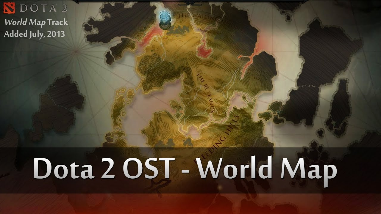dota 2 ost world map documentary music theme july 2013