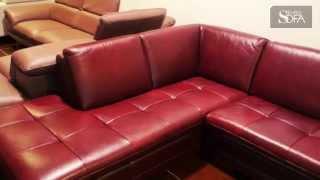 EUROSOFA - Luxusné kožené sedačky - Showroom Banská Bystrica
