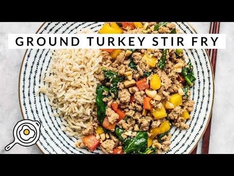 Ground Turkey Stir Fry thumbnail