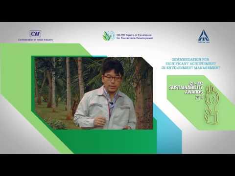 Toyota Kirloskar Motors - Commendation for Significant Achievement in Environment Management