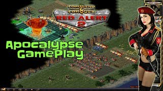 Red Alert 2 - Apocalypse GamePlay - 4 vs 1
