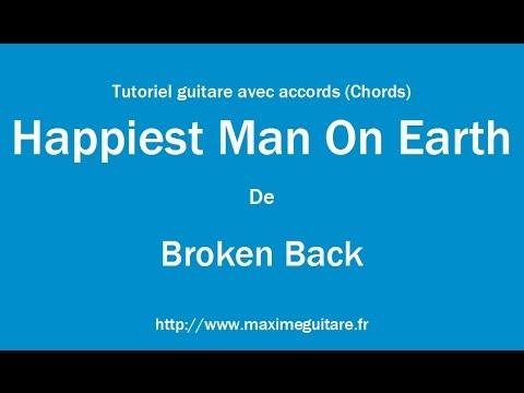 Happiest Man On Earth Broken Back Tutoriel Guitare Avec Accords