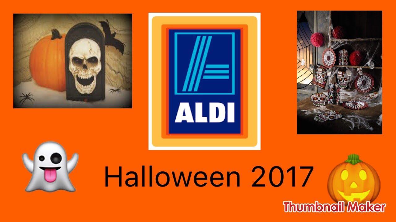 aldi halloween 2017 full release youtube. Black Bedroom Furniture Sets. Home Design Ideas