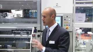 Automated by B - Dividella pharma cartoner runs 80 to 240 cartons per minute