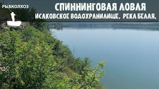 Рыбалка со спиннингом на ЛУГАНЩИНЕ Исаковское водохранилище Река Белая