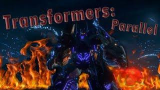 Клип Transformers: Parallel [Game Music Video]