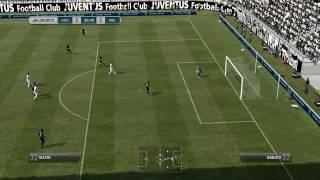 FIFA 12 PC Gameplay Juventus vs Milan 1st Half