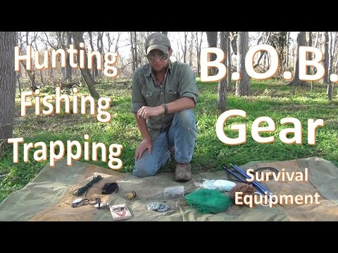 B.O.B. Hunting Fishing Trapping Gear Overview