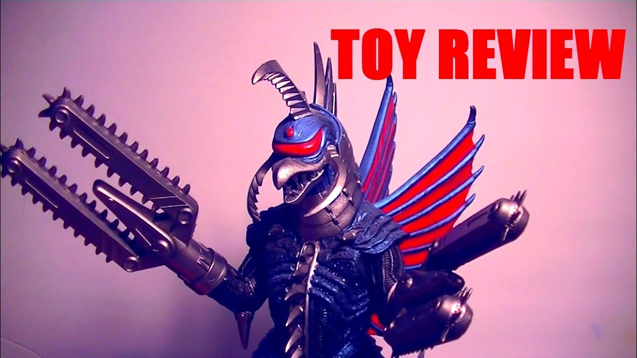 8in Chainsaw Gigan (Godzilla Final Wars 2004) Toy Review ...