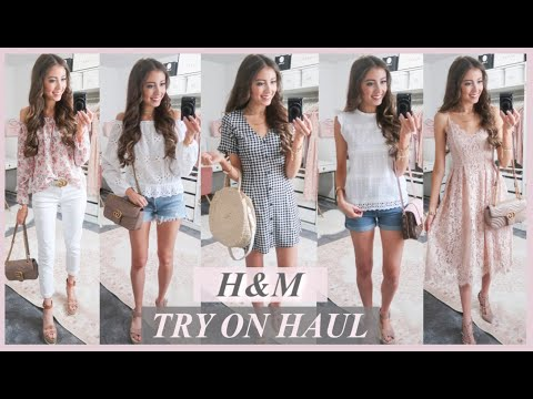 H&M SPRING TRY ON CLOTHING HAUL 2019 | AFFORDABLE SPRING OUTFIT IDEAS