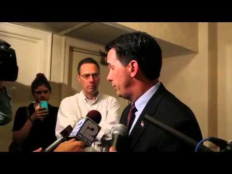 Scott Walker discusses John Doe documents