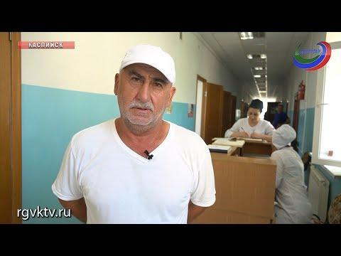 Ядовитая змея напала на жителя Каспийска