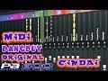 CINDAI Midi Dangdut Original Korg PA 600