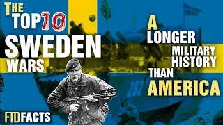 Top 10 Surprising Wars of Sweden