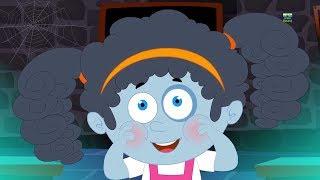 Пухнелькие щеки страшные рифмы Детская песня Preschool Rhymes Halloween Songs for Kids Chubby Cheeks