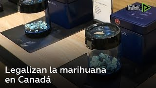 Legalizan la marihuana en Canadá