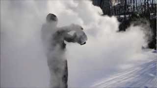 Turning Boiling or Hot Water into Snow at -13°F (-25°C)
