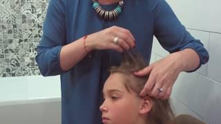 видео Как убрать гниды на волосах, как вычесать